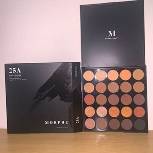 25A Copper Spice Morphe Eyeshadow pallet